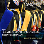 Transition Forward - Click to learn more about Augusta University's strategic plan