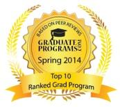 Graduate Programs Top 10 Seal