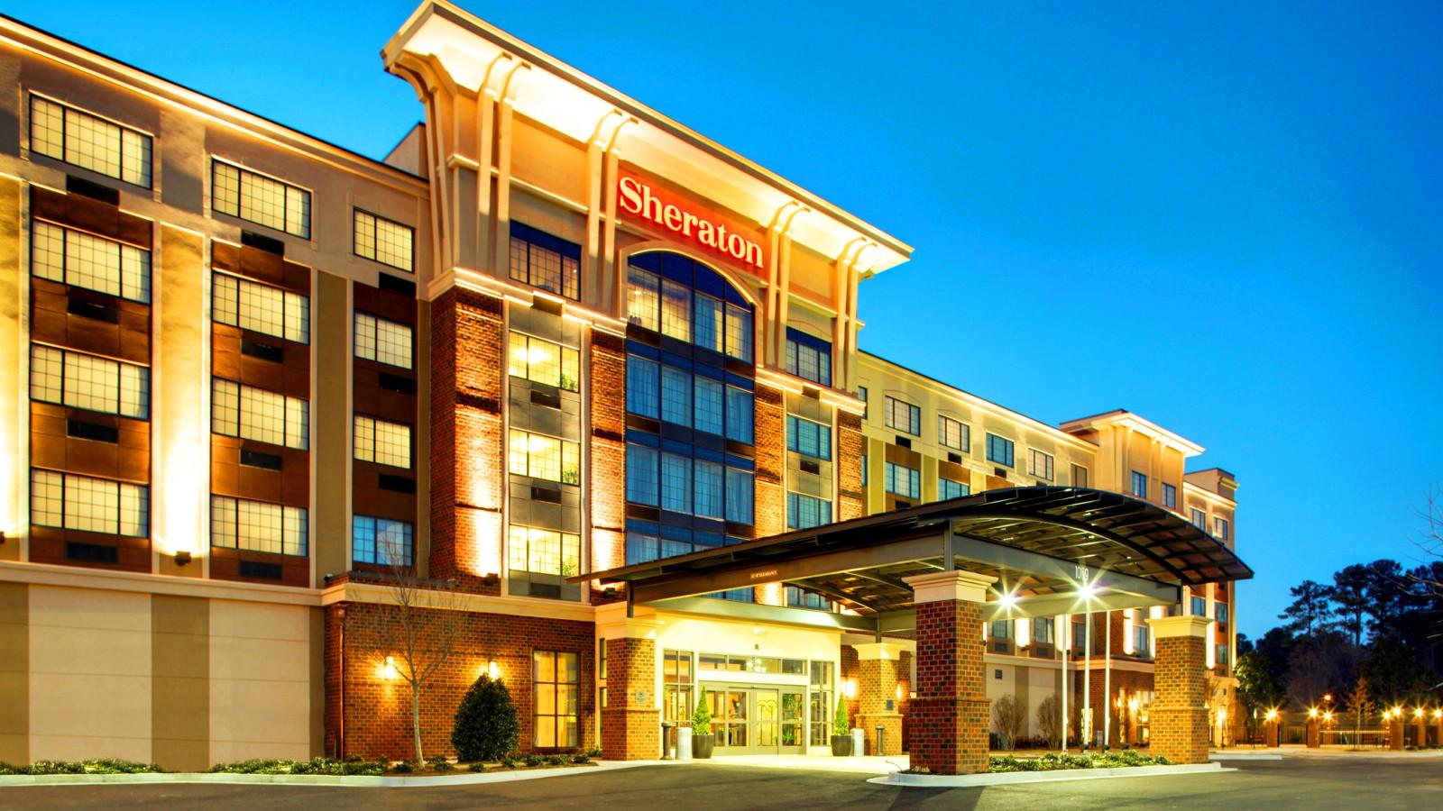 The Sheraton Augusta Hotel