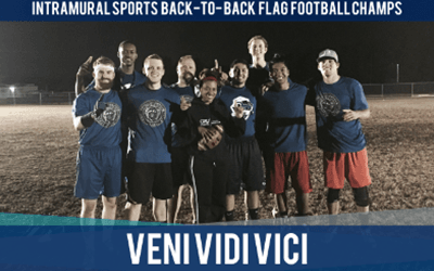 Veni Vidi Vici | Back-to-Back Flag Football