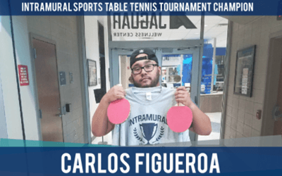 Carlos Figueroa | Table Tennis Tournament Champion