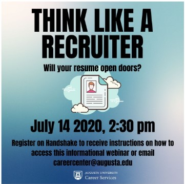 Think Like a Recruiter