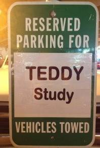 TEDDY reserved plate