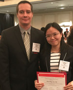 Huiping Lin, PhD Candidate and Dr. Gabor Csanyi