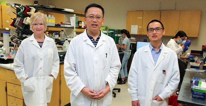 Drs. Caldwell, Huo and Liu
