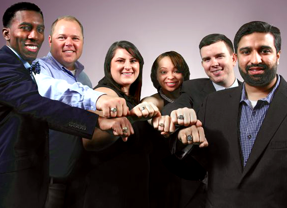 DCG Students with Ring
