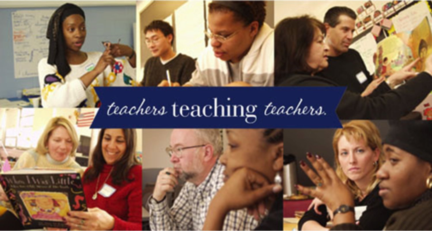 The National Writing Project has been training teachers since 1974.