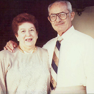 The late Leon and Dorothy Bloom