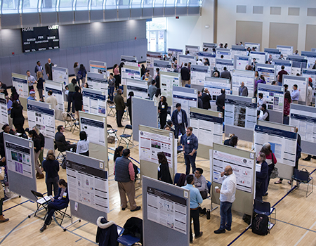 photo of previous graduate research day