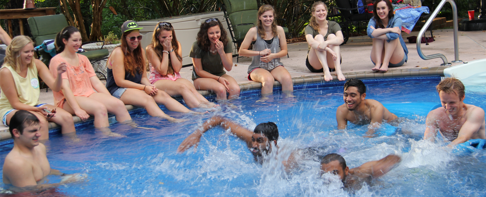 Star Program students enjoy pool party