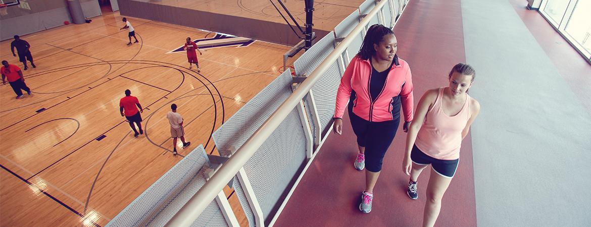 Being a student at Augusta University has its benefits! We offer our students a balanced graduate school experience. There are many opportunities for students to stay fit and active on campus. We offer club sports, intramural sports, wellness centers, and much more.