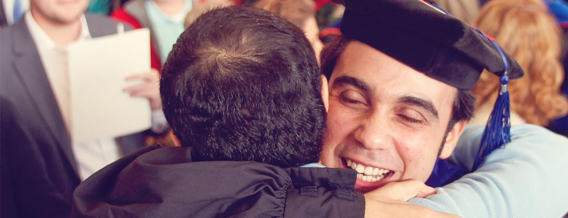 Graduation and Hooding is the culmination of your hard work. Achieve your fullest potential and find your fit for life.