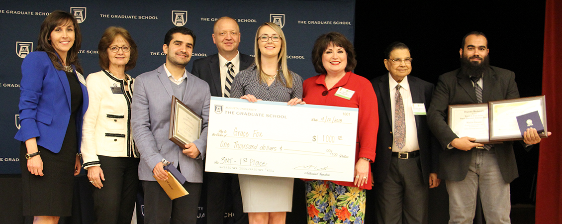 Congratulations to 3 Minute Thesis Competition Winners