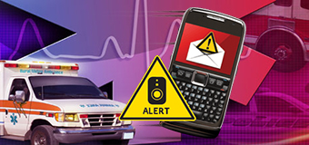 GR Alerts are used to send urgent emails, voice messages, and text messages to students, faculty and staff.