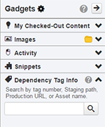 Dependency Tag Gadget