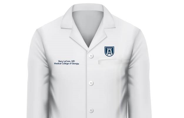 Example of Augusta University lab coat