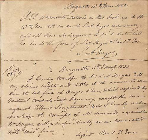 Ledger 1830s