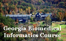 Georgia Biomedical Informatics Course