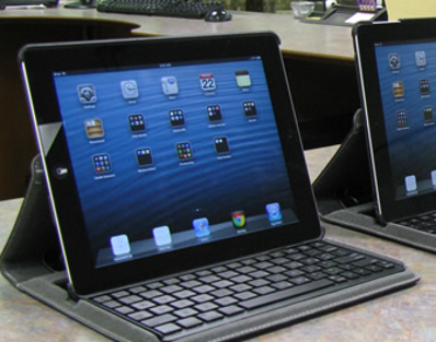 iPads for check-out