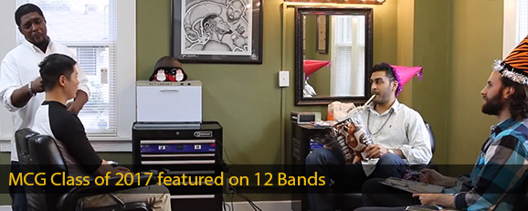 MCG Class of 2017 featured on 12 Bands Vol. 2