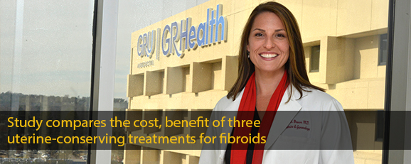 Study compares the cost, benefit of three uterine-conserving treatments for fibroids