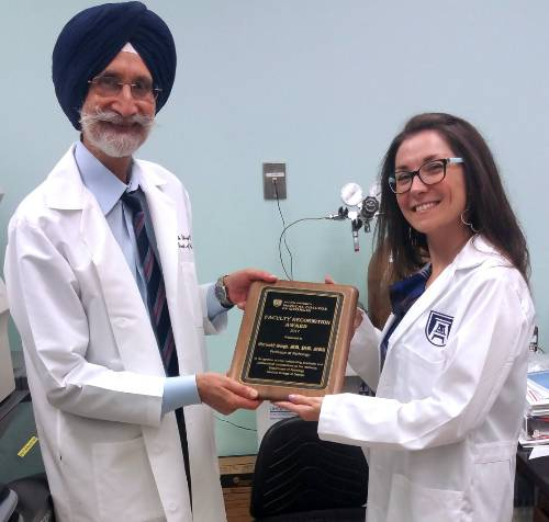 Dr. Savage and Dr. Singh
