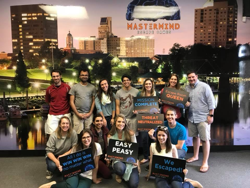 photo of Teamwork at Escape Room