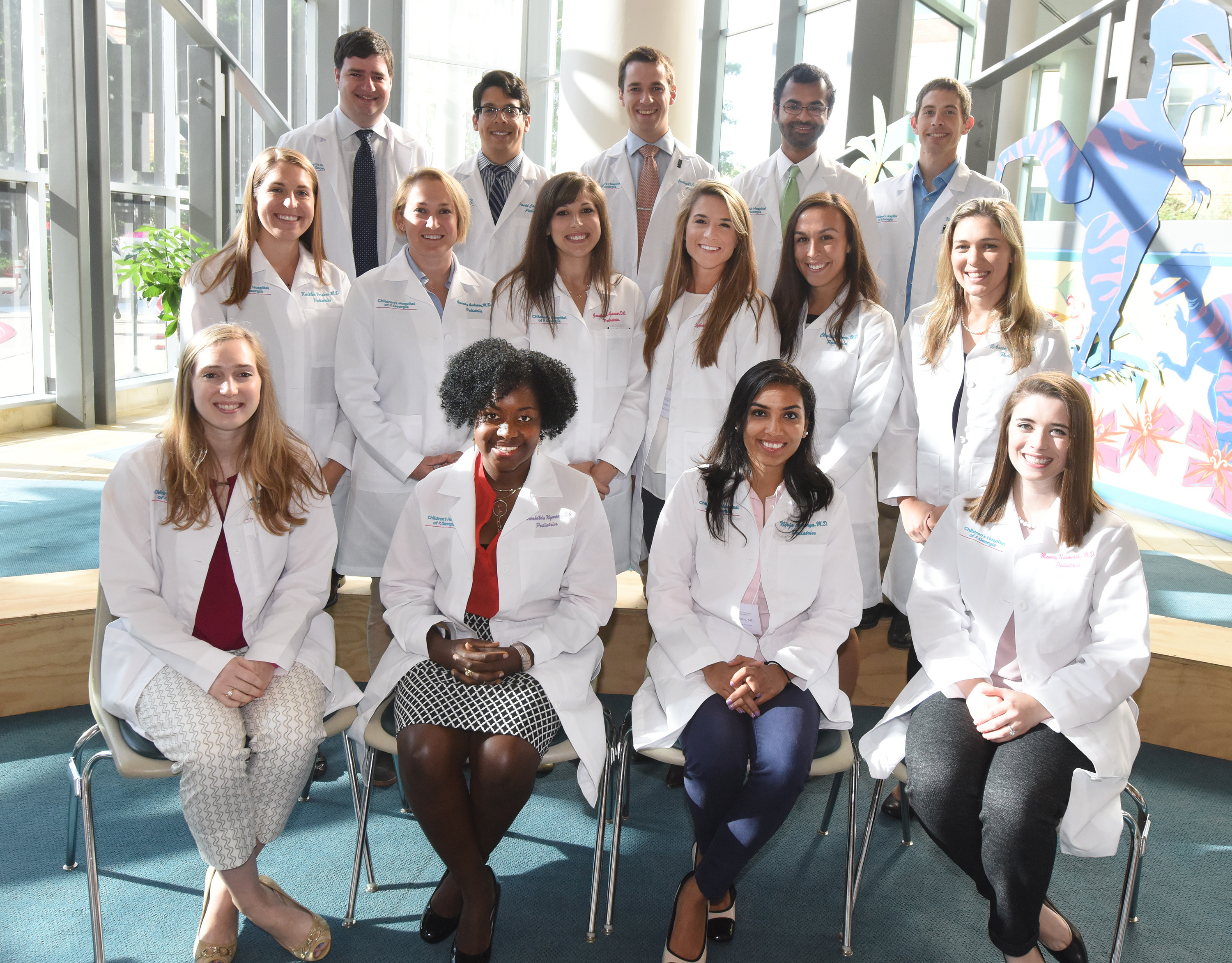 pediatric housestaff pgy 1 interns 2019