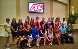 Group photo of recipients of ADP Scholarship